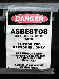 Protection against asbestos in workplace