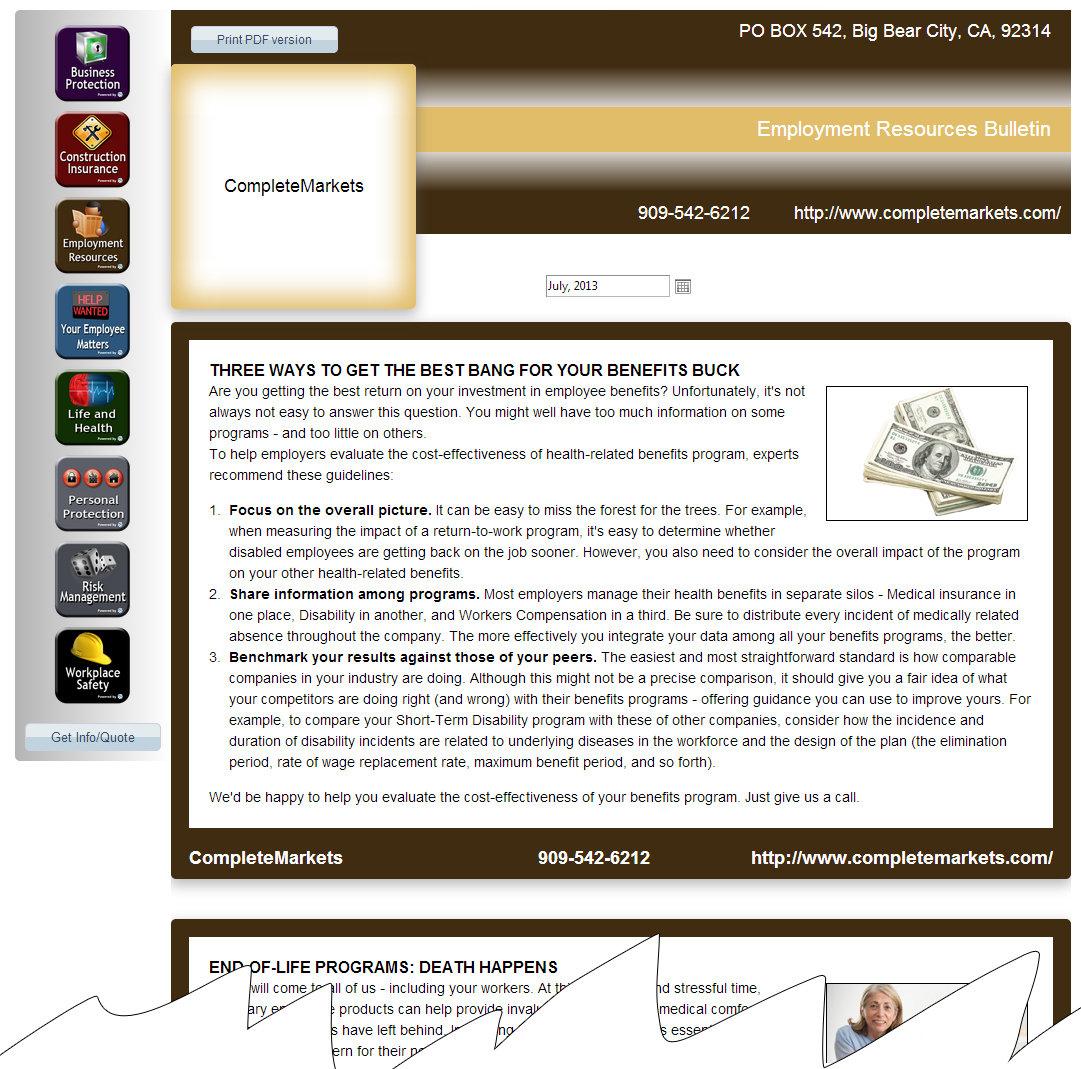 Newsletter samples sample issue altavistaventures Choice Image